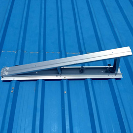 sheet roof solar mounting structure