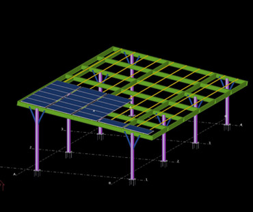 solar carport model chennai